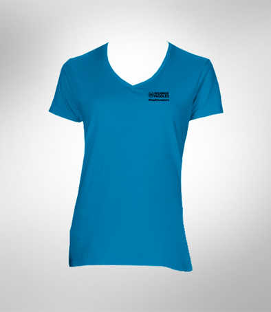 Women's 100% Cotton Healthy Waters T-Shirt