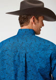 MENS LONG SLEEVE AMARILLO COLLECTION STARLIGHT GENTLEMANS PAISLEY