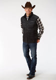 MENS OUTERWEAR DOWN PROOF COATED VEST