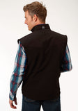 MENS OUTERWEAR BLACK WITH BLACK FLEECE