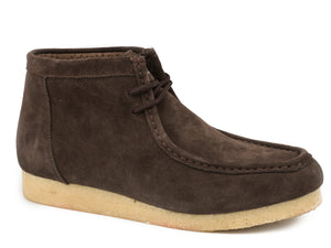 MENS BROWN SUEDE LEATHER