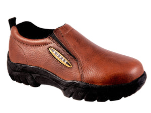 WOMENS PERFORMANCE SLIP ON BAY BROWN TUMBLED LEATHER
