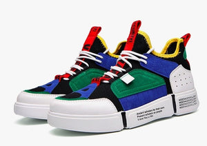 Patchwork Sneakers