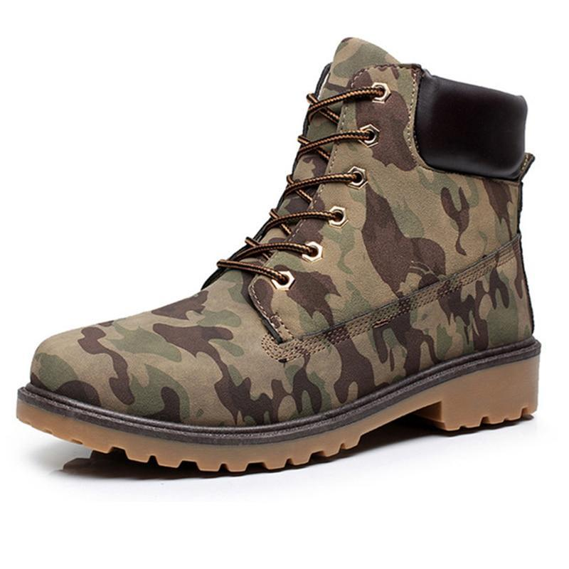 Camo Boots