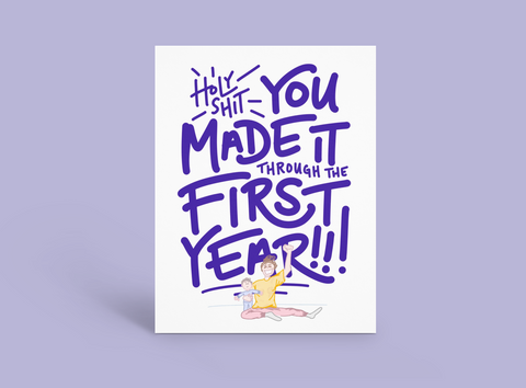 First Year Parent (Baby's First Birthday)