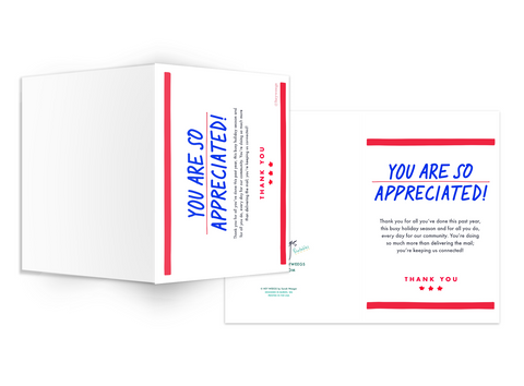 USPS Appreciation - Free Printable Kit