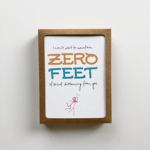 Covid - Zero Feet - Boxed Set