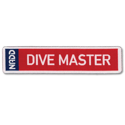 DIVE MASTER patch