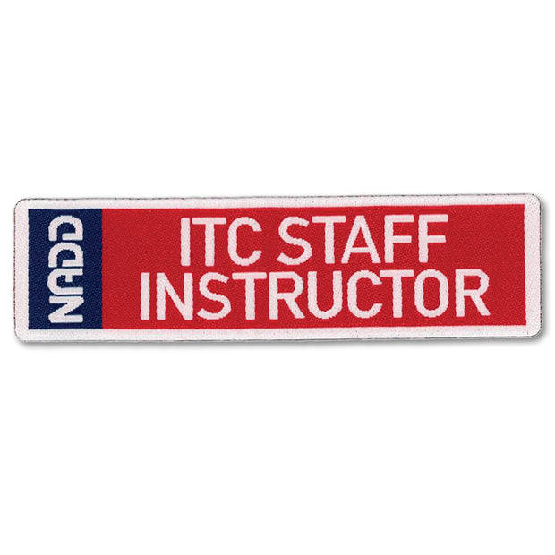 ITC STAFF INSTRUCTOR patch