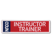 INSTRUCTOR TRAINER patch