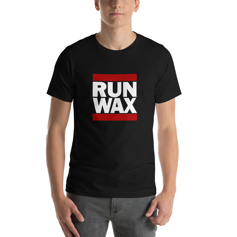 dirtystyluswear - Run Wax - Men's Unisex Premium DJ Turntablist T-Shirt - dirtystyluswear.com - T-Shirt