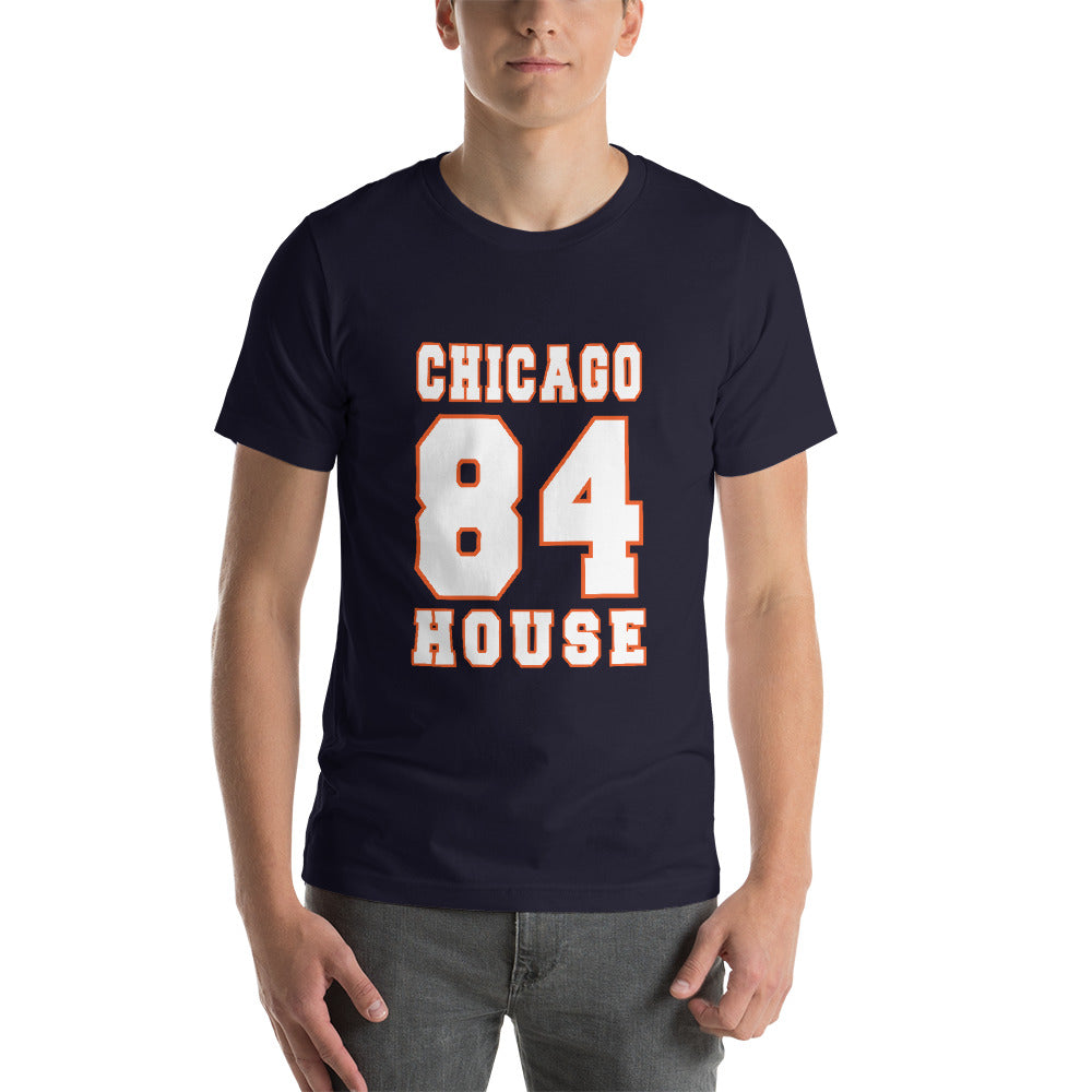 dirtystyluswear - Chicago House 84 - Mens Unisex Premium DJ T-Shirt - dirtystyluswear.com - T-Shirt