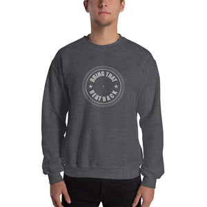 dirtystyluswear - Bring That Beat Back Turntable Platter - Mens Unisex DJ Sweatshirt - dirtystyluswear.com - Sweatshirt