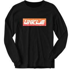 ORANGE LOGO FADE LONG SLEEVE (BLACK)