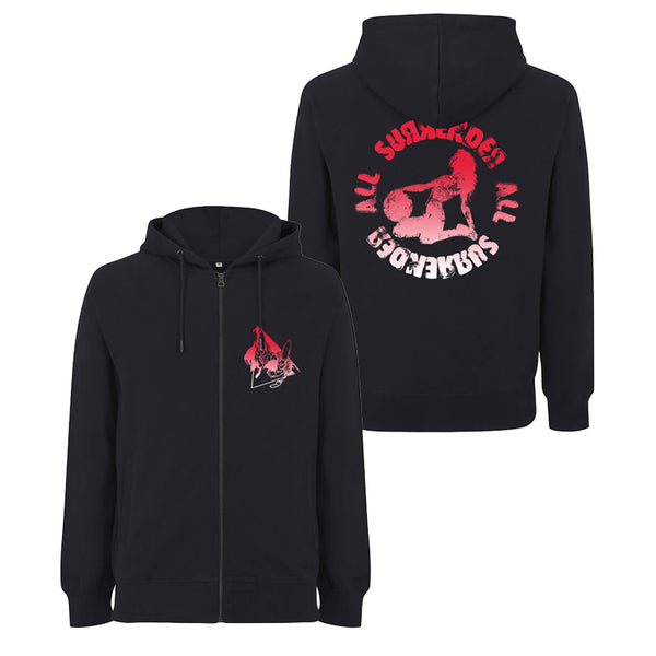 SURRENDER ALL ZIP-UP HOOD (BLACK)