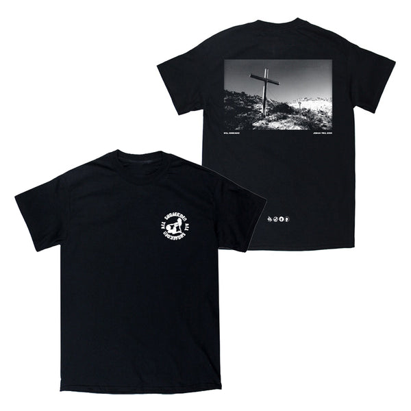 CRUCIFIX T-SHIRT (BLACK)