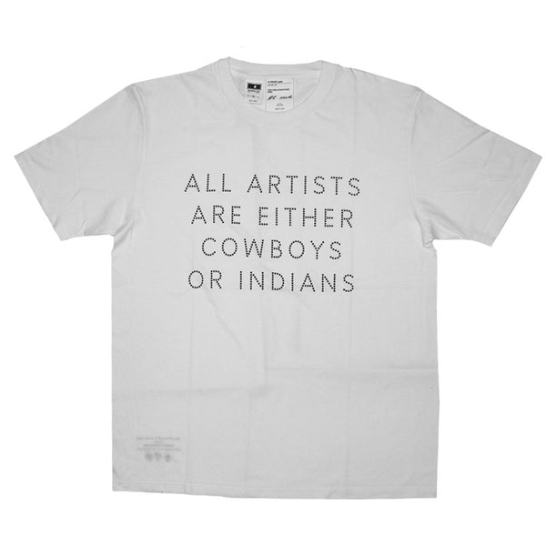 James Lavelle and Kazuki Kuraishi in Collaboration with Nathan Coley T-Shirt (White)