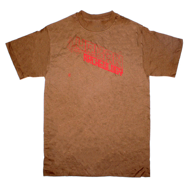 Original Archive 1997 - Mo Wax Urban Archaeology T-Shirts (Brown)