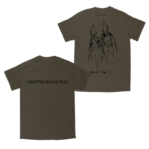 BILLION YEARS T-SHIRT (OLIVE)