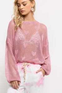 I Got My Heart On You Pink Sweater