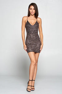 Meet Me At the Bar Mini Dress