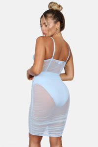 Miami Mesh Corset Dress