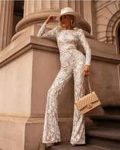 Load image into Gallery viewer, Sweet Nothings White Lace Jumpsuit