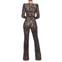Load image into Gallery viewer, Sweet Nothings Black Lace Jumpsuit