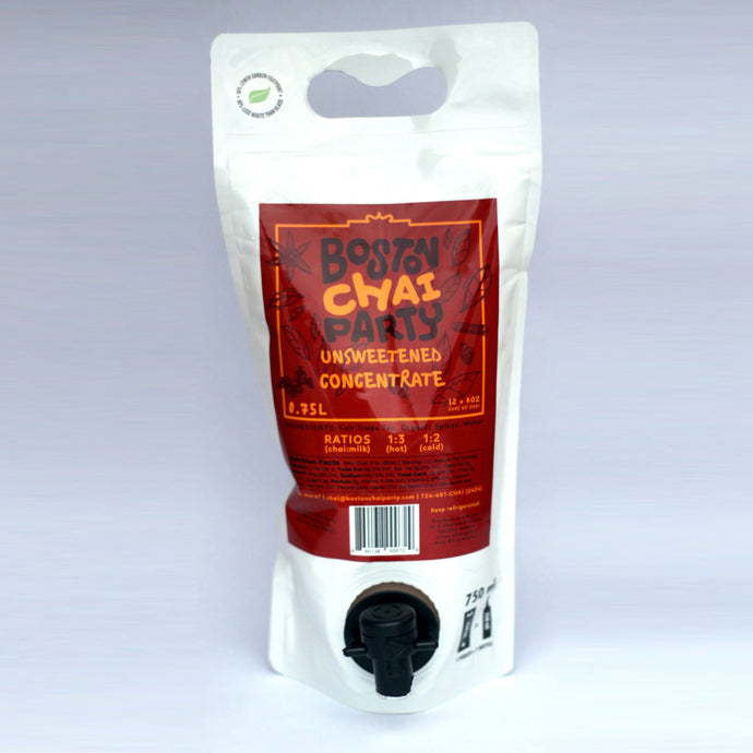 Unsweetened Chai Concentrate