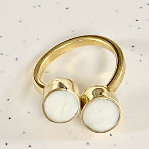 Double Dot Ring