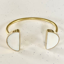 Load image into Gallery viewer, Double Half Moon Cuff