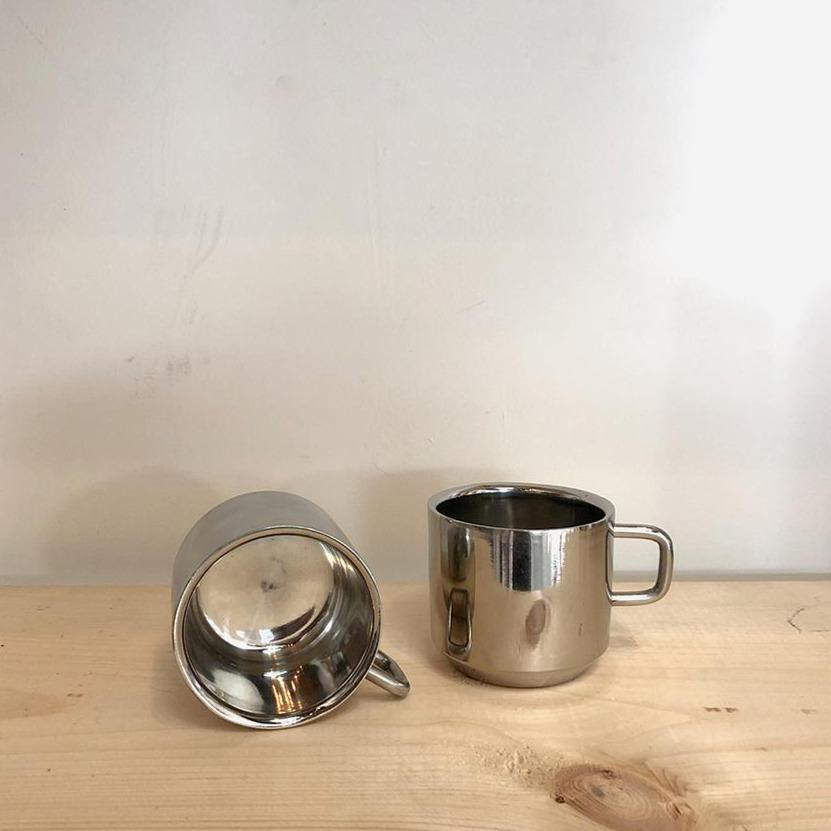 Stainless Steel Double Walled Tea Cup