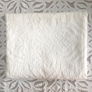 Organza Applique Cutwork Tablecloth
