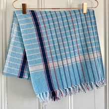 Load image into Gallery viewer, Handwoven Cotton Checked Towel