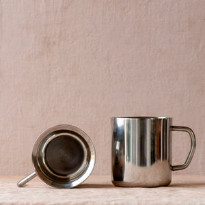 Stainless Steel Double Walled Coffee Cup