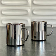 Load image into Gallery viewer, Stainless Steel Double Walled Coffee Cup