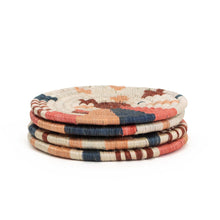 Load image into Gallery viewer, Coaster Set - Coral Biko