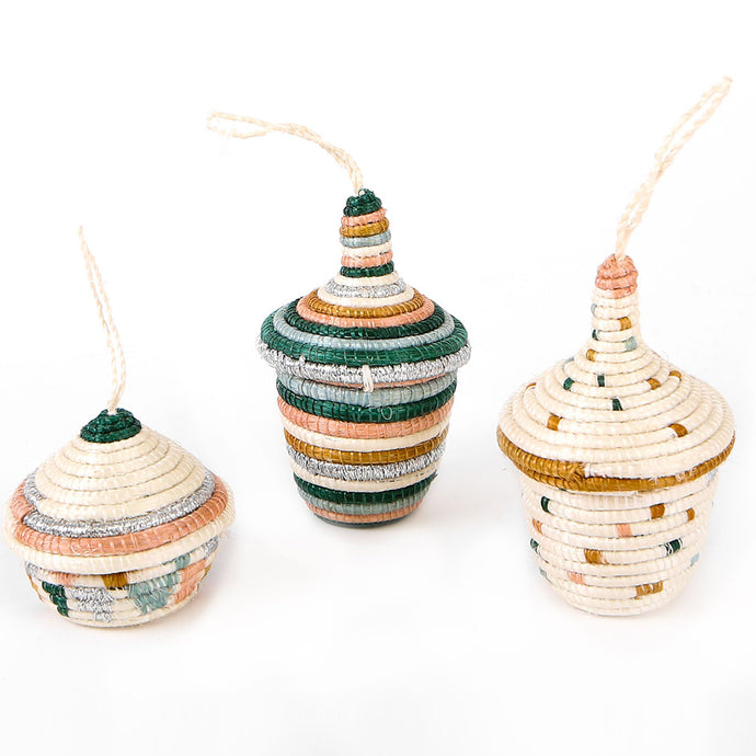 Ornament Set - Floret Metallic