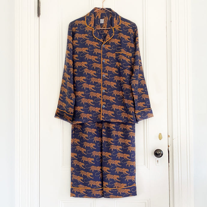Men's Pajamas - Navy