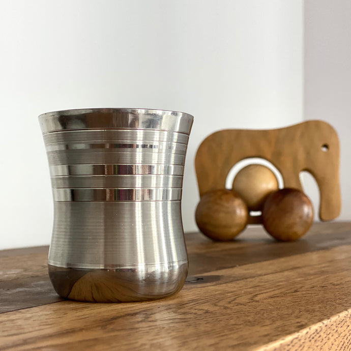 Stainless Rattle Cup
