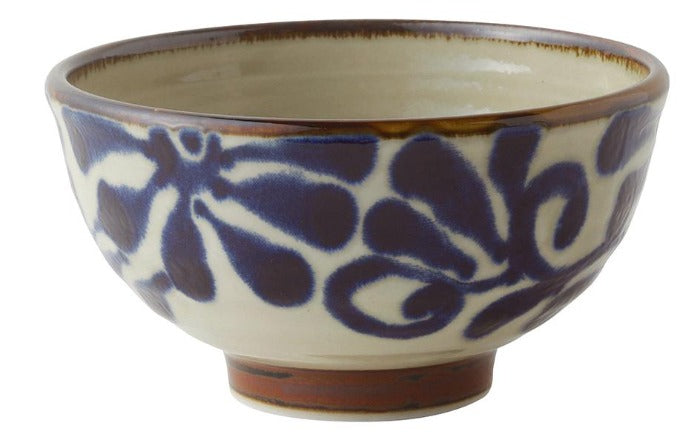 Jacob Little -Dulwich Hill-Japanese Bowl-Blue and White
