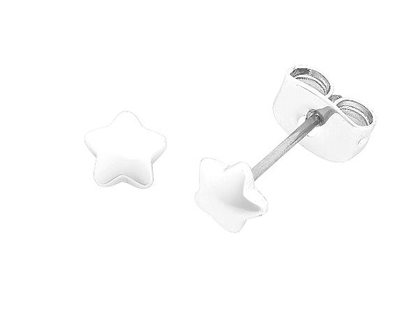 Jacob Little Dulwich Hill- Liberte- Petite Earring-Silver- Star