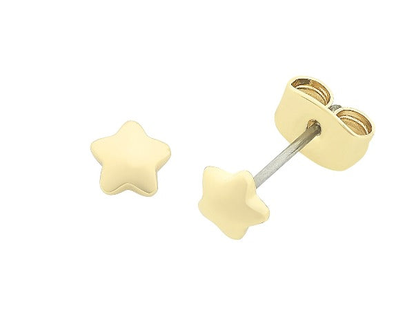 Jacob Little Dulwich Hill- Liberte- Petite Earring-Gold-Star