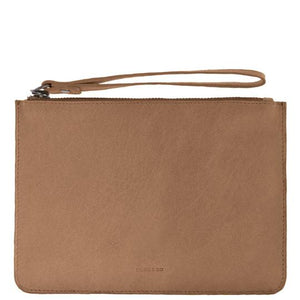Jacob Little-Dulwich Hill-Leather Pouch -Tan
