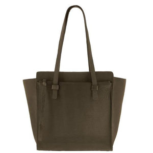 Jacob Little-Dulwich Hill-Handbag-Leather-Olive green