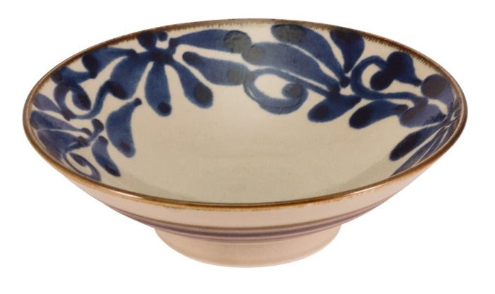 Jacob Little Dulwich Hill- Japanese Bowl- Blue and white-Large