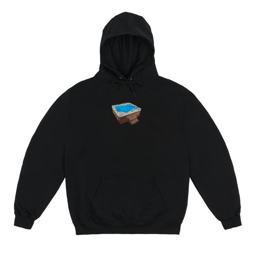Jacuzzi Hoodie Black *Embroidered