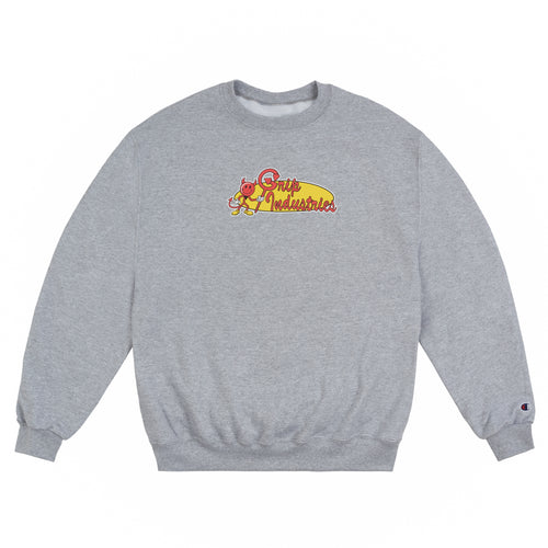 Grip Industries Crewneck Grey