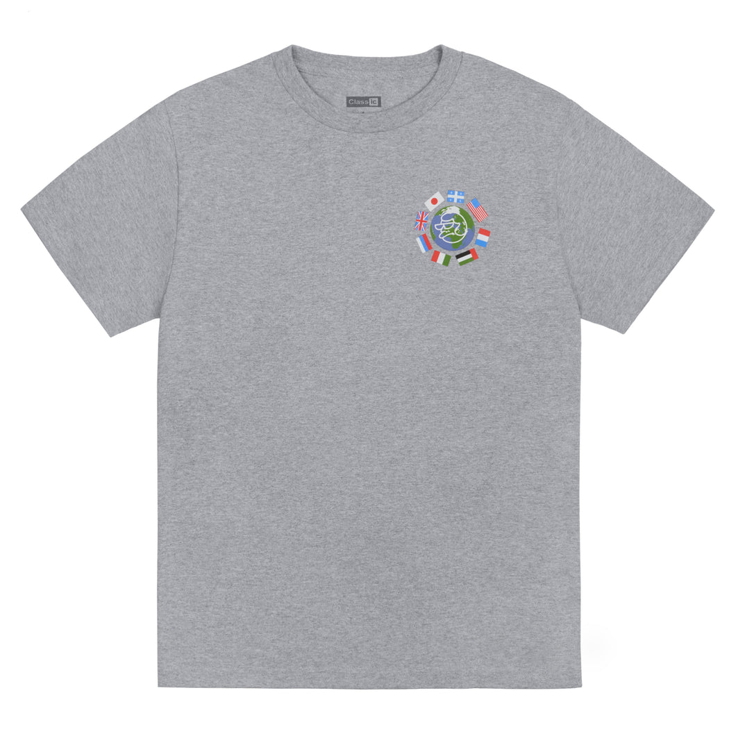 5 O'Clock T-Shirt Grey