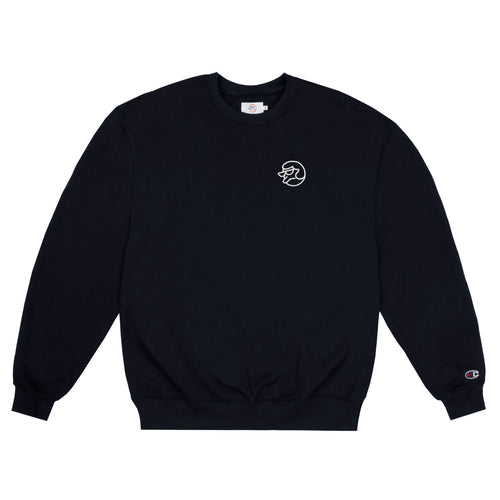 EMBROIDERED GLOW IN THE DARK CLASSIC GRIP CREWNECK